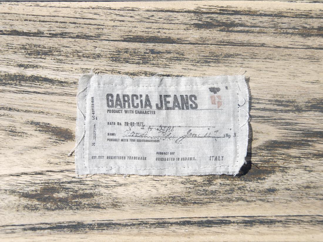 garcia-jeans-branding-label